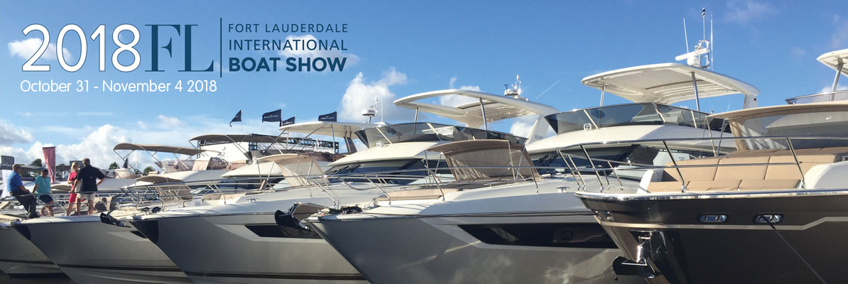 Banner about Fort Lauderdale International Boat Show